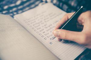 checklista vid begravning