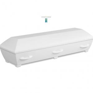 Miljövänlig begravningskista